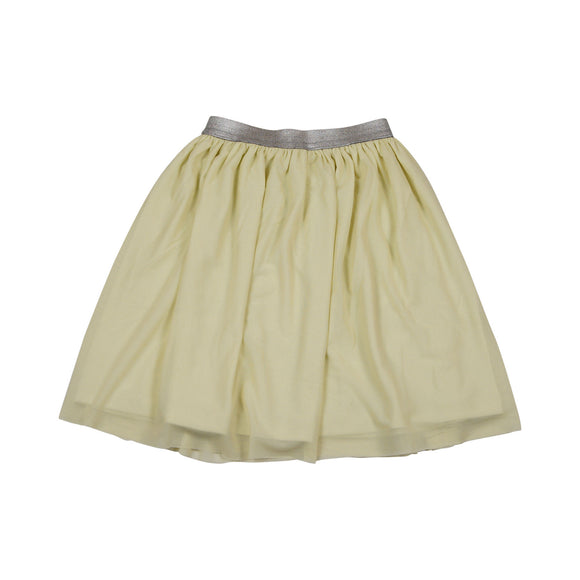 Teela Light Beige Tulle Skirt