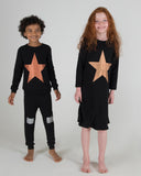 STAR Nightgown - Black - FINAL SALE