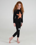 2 Piece STAR Loungeware - Black - FINAL SALE