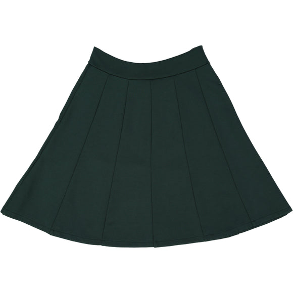 Panel Skirt - Hunter Green