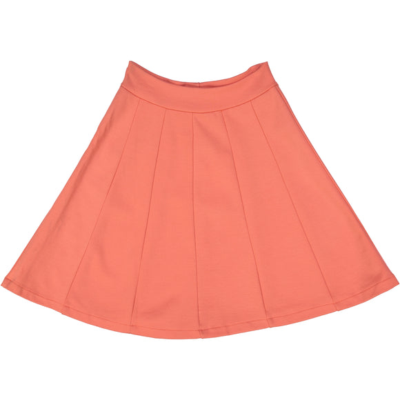 Panel Skirt - Persimmon