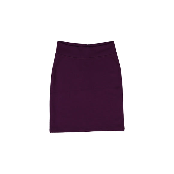 Pencil Skirt - Plum