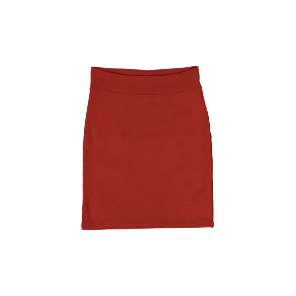 Pencil Skirt - Rust Orange