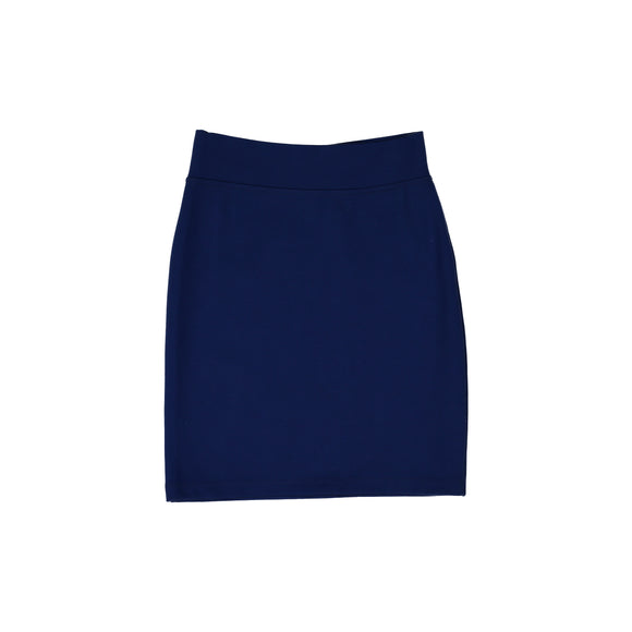 Pencil Skirt - True Blue