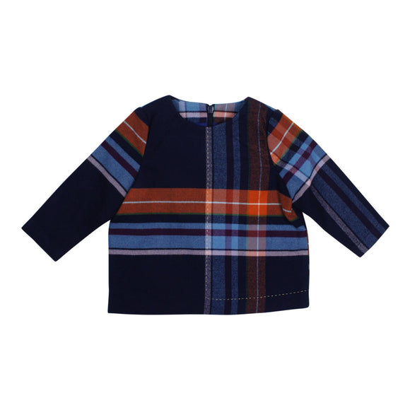 Teela Baby Boys' ABA Plaid Collar Shirt