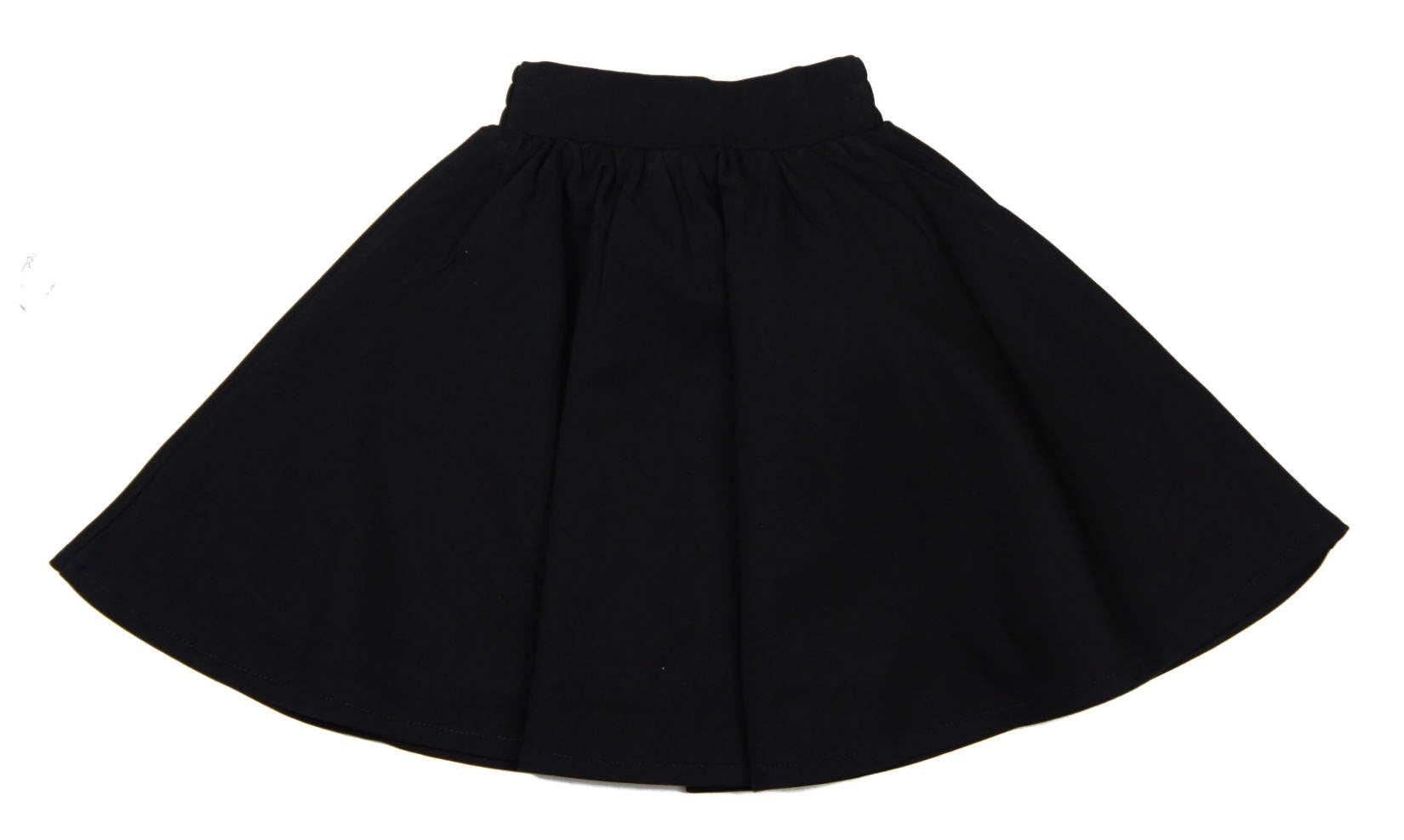 f57142033 Teela Black Ponte Circle Skirt - Young Timers Boutique