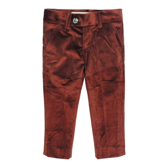 Teela Boys' REX Rust Solid Pants