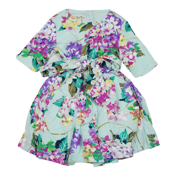 Teela Fit and Flare Floral Dress