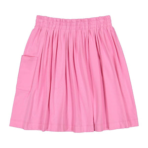 Teela Girls' 1 Pocket Pink Skirt