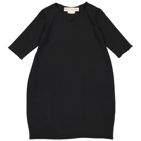 Teela Girls' Black Bubble Dress