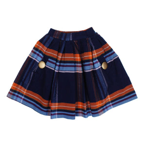 Teela Girls' DEB Plaid Skirt