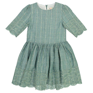 EMA Eyelet Stitch Artichoke Dress - FINAL SALE