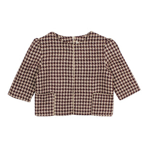 Teela Girls' FAY Houndstooth Crop Top