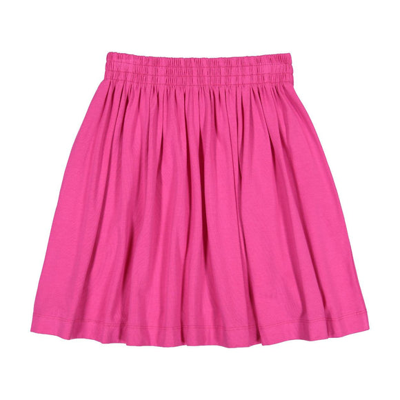 Teela Girls' Fuchsia Summer Skirt