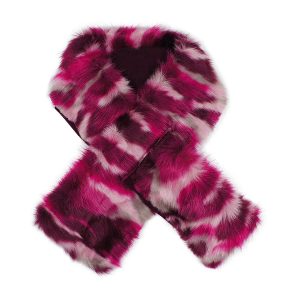 Teela Girls Fur Scarf