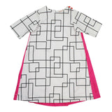 Teela Girls' Geometric Shift Dress