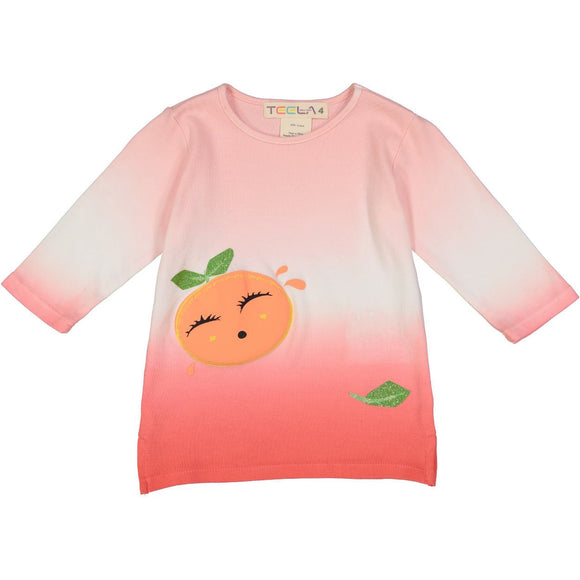 Teela Girls' Grapefruit Tee