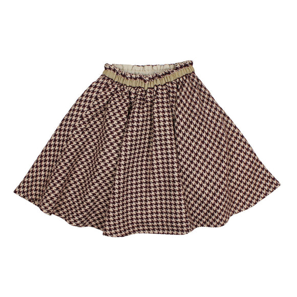 Teela Girls' IVY Houndstooth Skirt