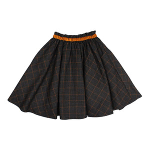 Teela Girls' IVY Windowpane Skirt