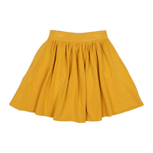 Teela Girls' Mustard Basic Skirt