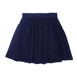 Teela Girls' Navy Basic Skirt
