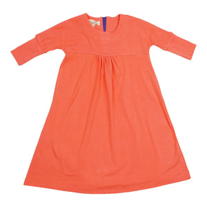 Teela Girls' Orange Smock Dress - FINAL SALE