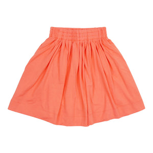 Teela Girls' Orange Summer Skirt