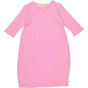Teela Girls' Pink Bubble Dress