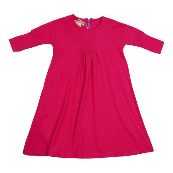 Teela Girls' Pink Smock Dress - FINAL SALE