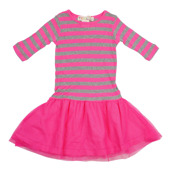 Teela Girls' Pink Tulle Dress