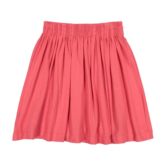 Teela Girls' Red Summer Skirt