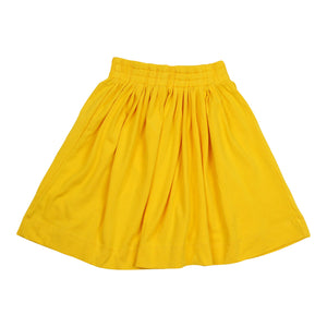 Teela Girls' Yellow Summer Skirt