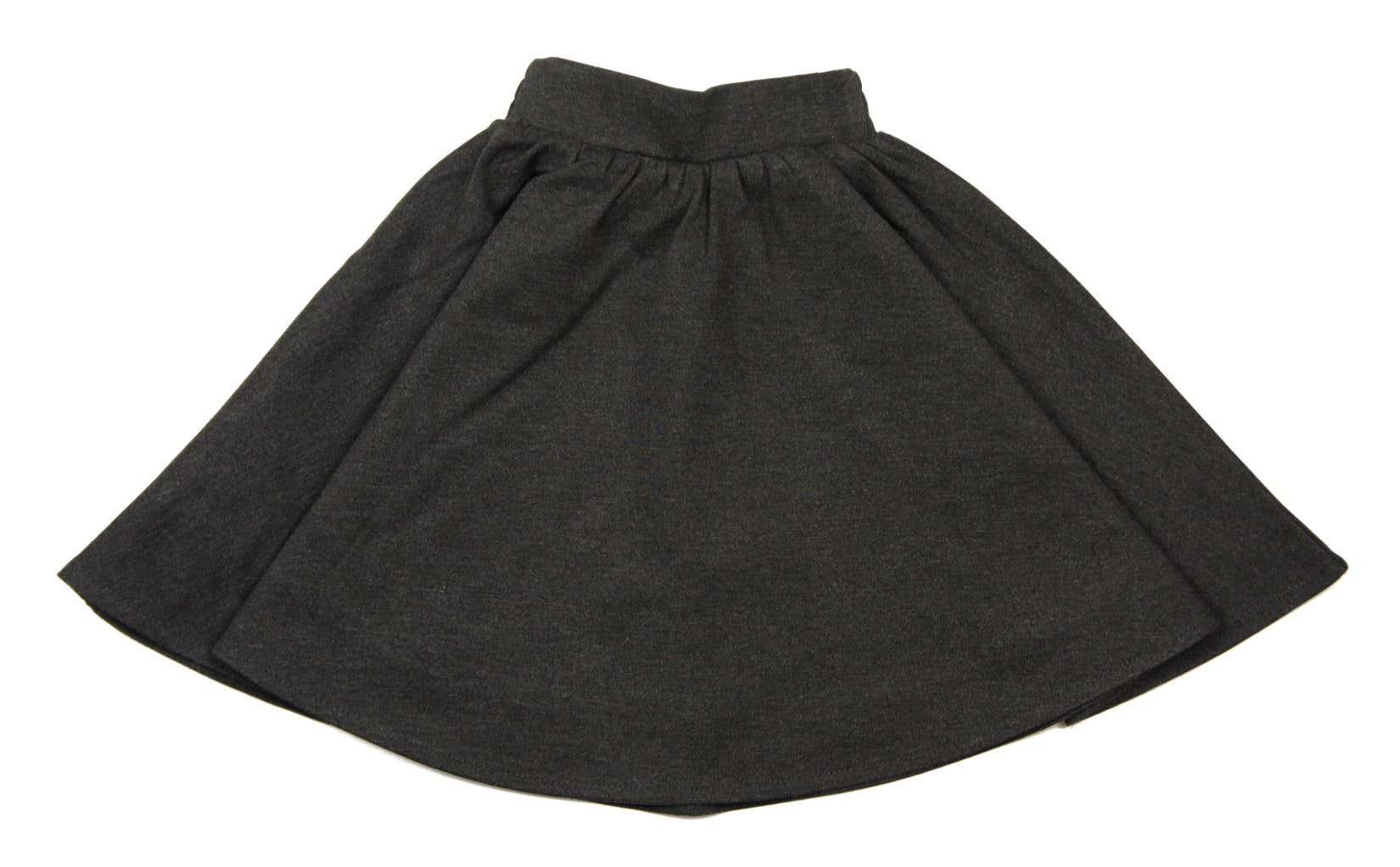 1a8686d80 Teela Grey Ponte Circle Skirt - Young Timers Boutique