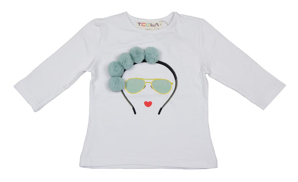 Teela Pom Pom Hairband T-shirt
