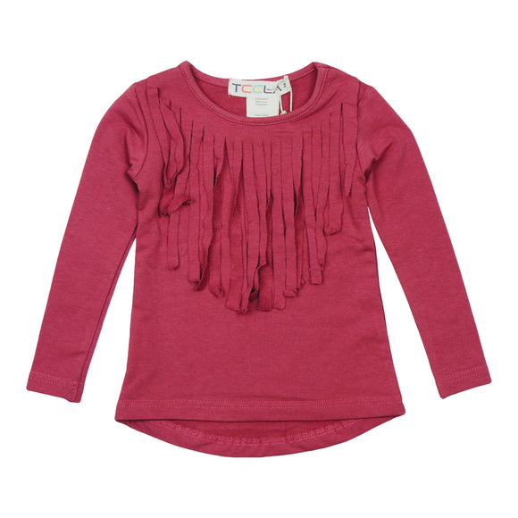Teela Rose Fringe T-shirt - Young Timers Boutique