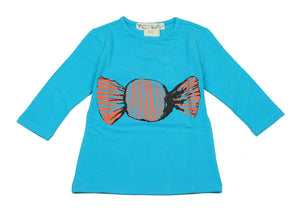 Teela Turquoise Candy T-shirt