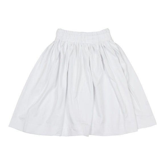 Teela White Summer Skirt - Young Timers Boutique