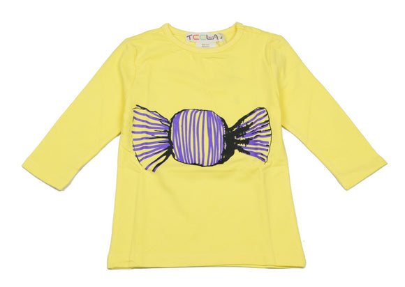 Teela Yellow Candy T-shirt