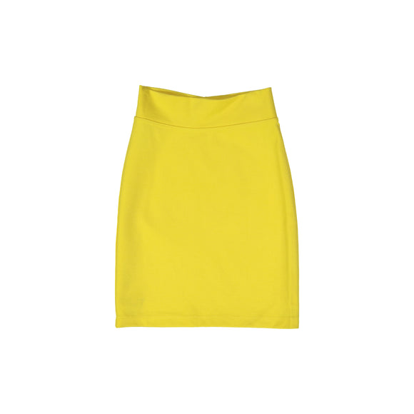Pencil Skirt - Yellow