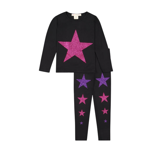 STAR loungeware set - PINK/PURPLE