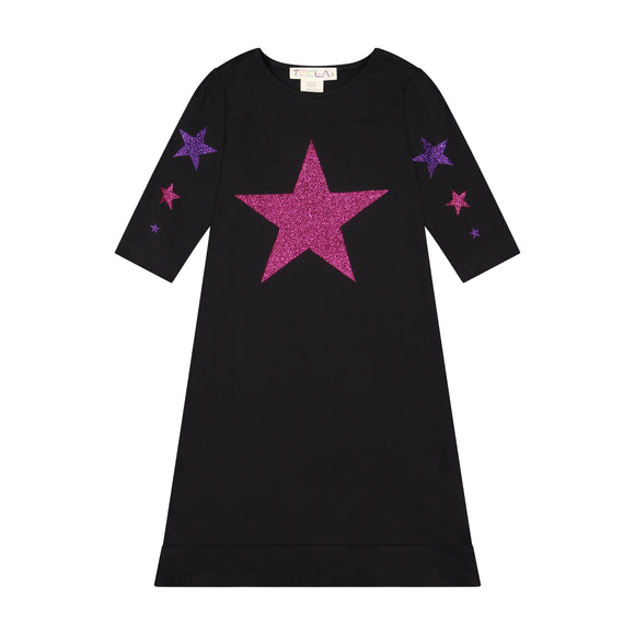 STAR nightgown - PINK/PURPLE