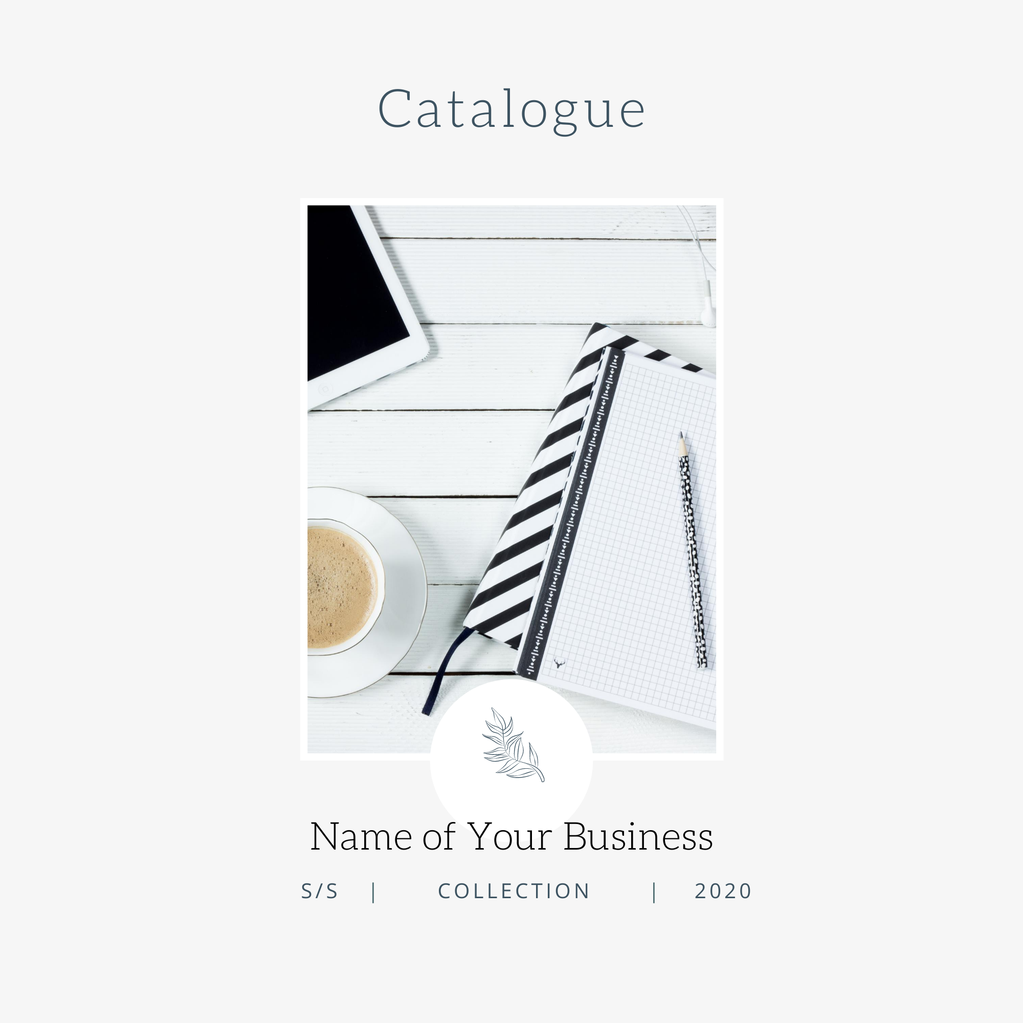 Catalogue or Look Book - Modern Minimalist