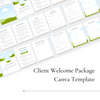 Client Welcome Kit - Earthy Elegance