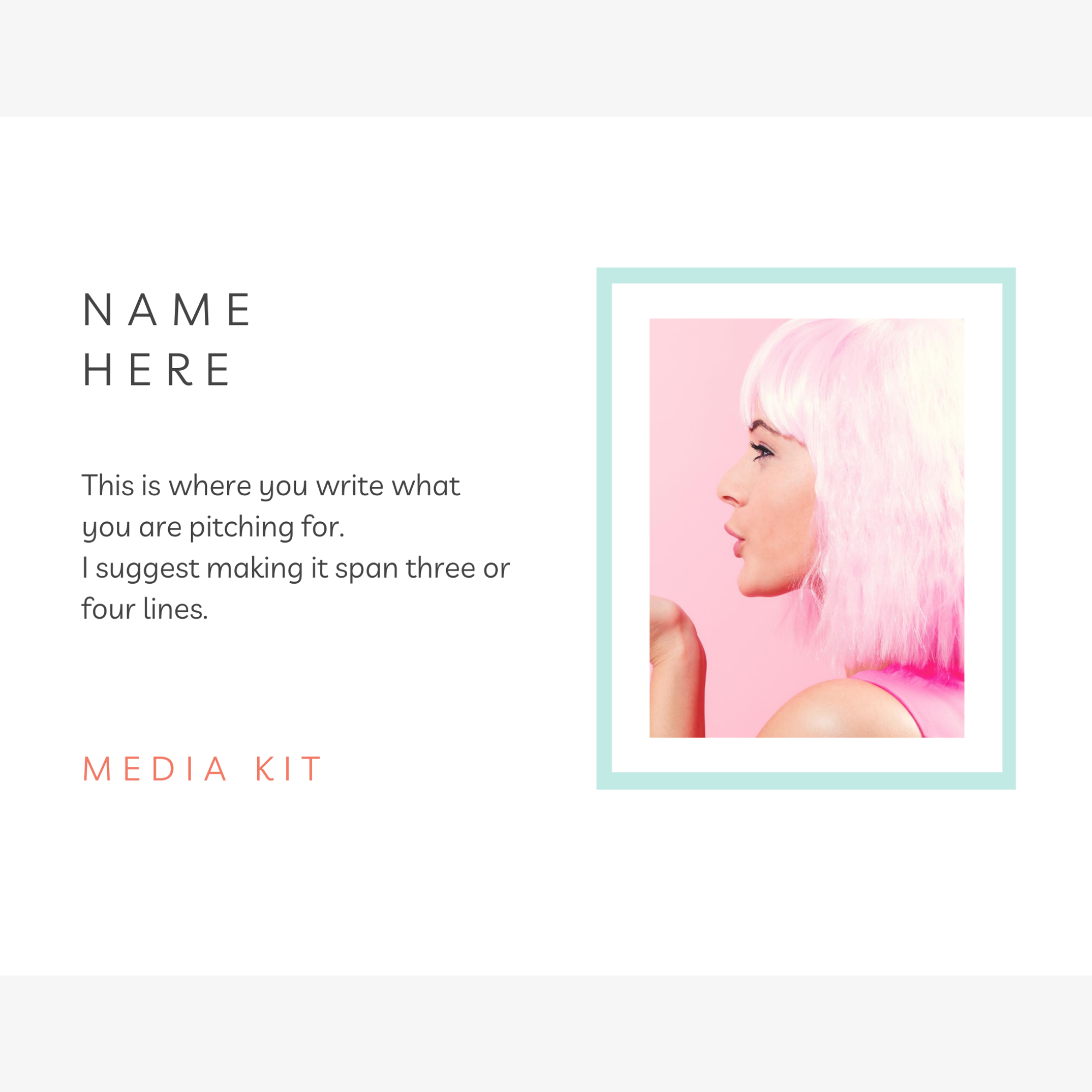 Media Kit - Bold & Bright
