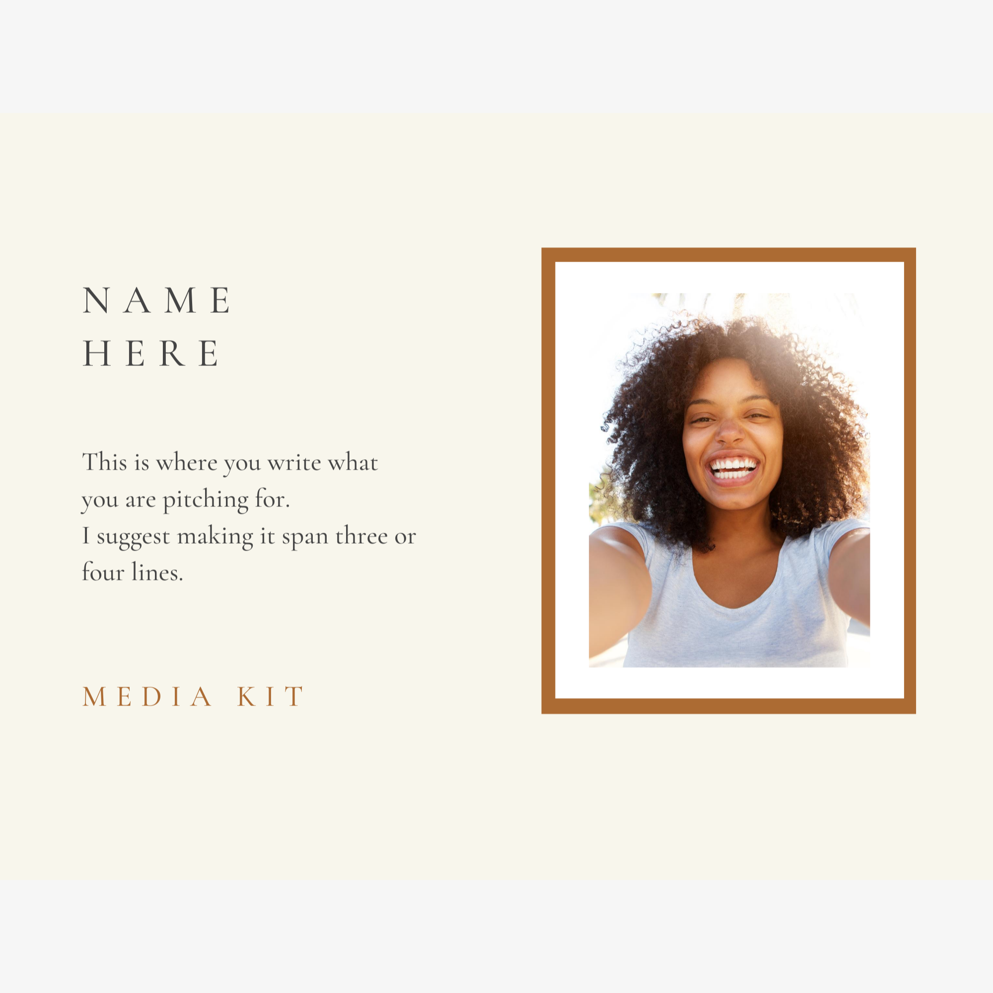 Media Kit - Earthy Elegance