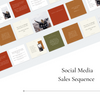 Square Social Media Sales Sequence - Earthy Elegance