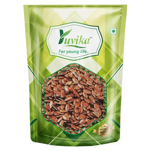 YUVIKA Raw Chia Seeds, Flax Seeds, Pumpkin Seeds and Sunflower Seeds 1Kg Combo Pack (Pack of 4) (250g Each) - Sindhi Kachri