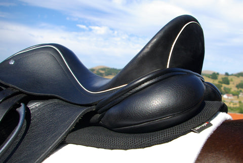 saddle with pad underneath
