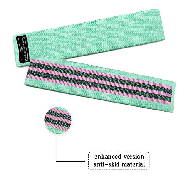 Anti slip booty band