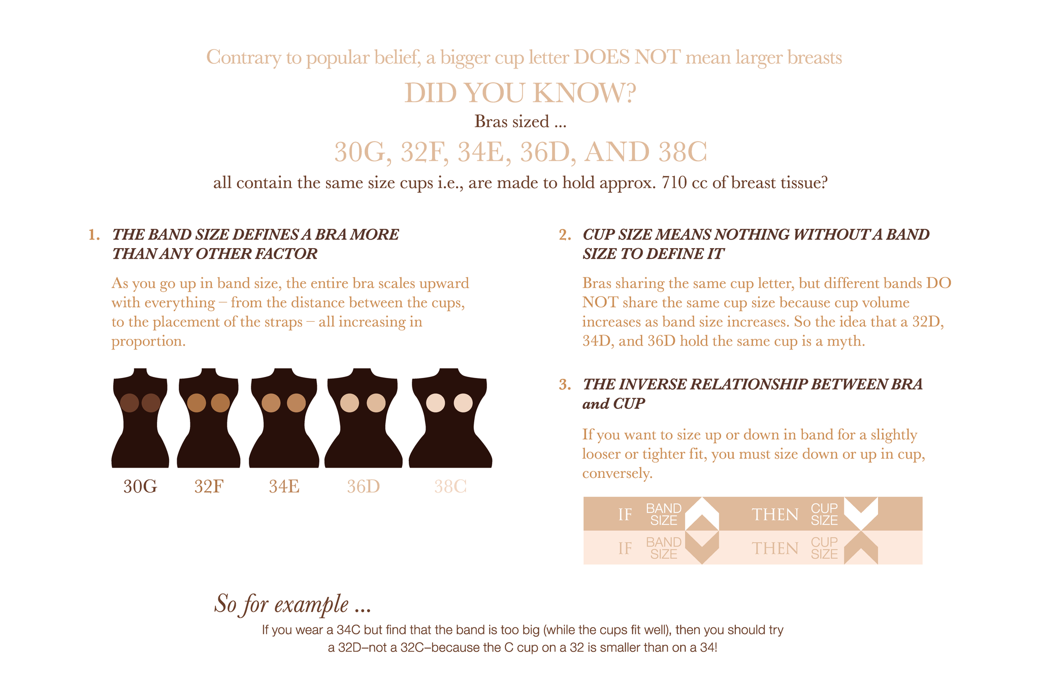 do you know how cup sizes really work? - random - onehallyu